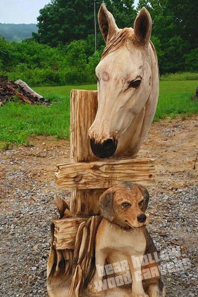 Custom Chainsaw Carving Gallery Bear Hollow
